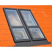 Оклад для плоской кровли для окна балкона FGH-V Galeria Fakro ESV/G 78*255