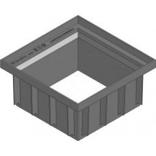 Верхняя часть для точечного дренажа HAURATON Recyfix Point 30/30 PР, 106 мм