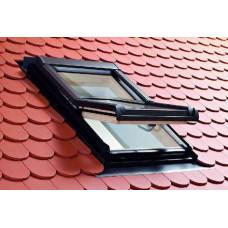 Вікно мансардне Designo WDF R45 H N WD AL 07/14